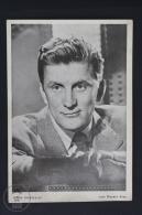 Original Old Cinema/ Movie Advertising Image - Actor: Kirk Douglas - 12 X 17 Cm. - Publicidad