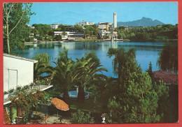 CARTOLINA VG ITALIA - SABAUDIA (LT) - Lago Di Paola E Zona Residenziale - 10 X 15 - ANN. 1981 - Latina