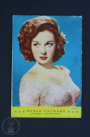 1960 Small/ Pocket Calendar - Movie/ Cinema Actress: Susan Hayward - Calendarios