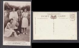 Great Britain,  King  George VI, Queen Elizabeth, Princesses Elizabeth + Margaret Rose; Valentines (pub), - Familles Royales