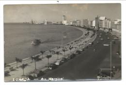 /// CPA - Photo Carte - Foto Kaart - Card - Afrique - Angola - LUANDA - Av. Marginal  // - Angola