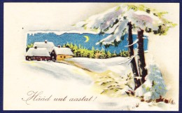 1935 ESTONIA HAPPY NEW YEAR PC - Nouvel An