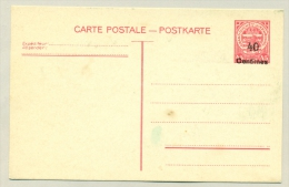 Luxembourg - 1938 - 40 Ct Overprint On 45 Ct Carte Postale / Postkarte - Stamped Stationery