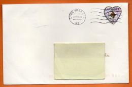 MAURY N° 3614     COEUR CHANEL     Lettre Entière N° P 273 - 1961-....