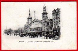 ANVERS - Le Marché Couvert Et L'avenue Des Arts - Antwerpen