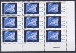 FR/SER 2 - FRANCE Service N° 130/31 Neufs** En Blocs De 9 Coins Datés - Dienstpost