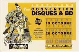 ANGOULEME-7e CONVENTION DISQUES & BD-dessin De BAJRAM - Comics