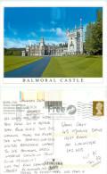 Balmoral Castle, Aberdeenshire, Scotland Postcard Posted 2009 Stamp - Aberdeenshire