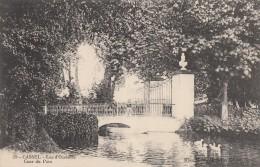CPA - Cassel - Lac D'Oxelaëre - Cour Du Parc - Cassel
