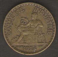FRANCIA BON POUR 2 FRANCS 1924 - Francia