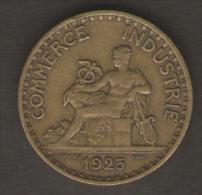 FRANCIA BON POUR 1 FRANCS 1925 - Francia