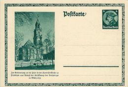 DEUTSCHES REICH 6 PF REICHSTAGEN POSTDAM 1933 MICHEL P 248 GANZSACHE - Allemagne
