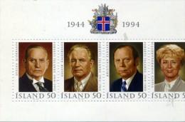ISLANDE 1994 N° YVERT ET TELLIER BF 16 NEUF LUXE ** MNH - Blocks & Sheetlets