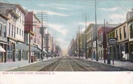 Main Saint Looking East Zanesville Ohio