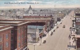 Main Street Looking South Aberdeen South Dakota - Aberdeen