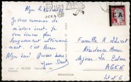 ALGERIE: N°360 (EA) Oblitéré Sur CP De 1962 !!!