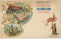 Paris Exhibition 1900 Celebration Of Alexandre III Bridge Tsar Advert Camera Mackenstein 15 Rue Des Carmes Paris 5 Litho - Russia