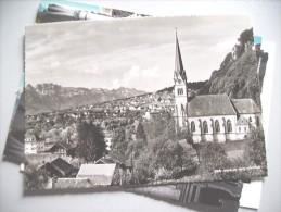 Liechtenstein Vaduz City And Church - Liechtenstein