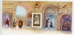 Mozart-La Clémence De Titus-Costumes-Salzbourg-France Bloc Souvenir B11 + Pochette***MNH - Musique
