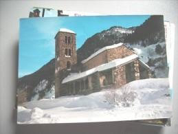 Andorra Church In Snow - Andorra