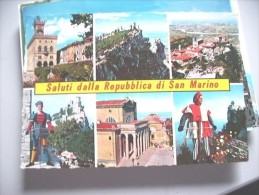 San Marino Saluti Dalla Repubblica - San Marino