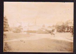 63 ROYAT - Place Et Ses Tramways - Photo Originale De 1894 -  ( Document Rare ! ) - Photographs