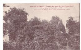 24382 Montjean Mayenne Chateau Bati Avant Charlemagne Sans éd - France