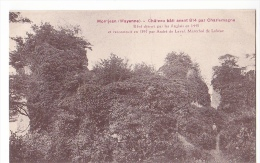 24382 Montjean Mayenne Chateau Bati Avant Charlemagne Sans éd