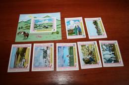 Mongolia 1979  Rare Imperf Proof Specimen - Mongolia