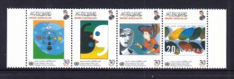 Brunei 2001 Dialogue Among Civilizations Joint Issue Strip MNH - Emisiones Comunes
