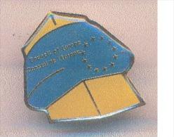 Pins  -  B1719 - 67 -Strasbourg - Le Conseil De L'Europe - Badges
