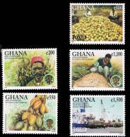 Ghana Cocoa Export Industry 5 New 1998 0714 - Ghana (1957-...)