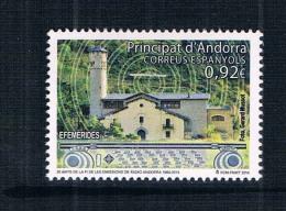 SP0346 Spanish Andorra 2014 Andorra 1 Radio Station Building New 0714 - 1931-Heute: 2. Rep. - ... Juan Carlos I