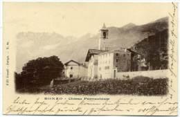 O.354.  BONZO - Groscavallo - Torino - 1900 - Italia