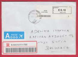181311 / 2013  - 6.16 EUR. - PRIOR INTL - MACHINE LABEL STAMPS Belgique Belgium Belgien Belgio - Belgium