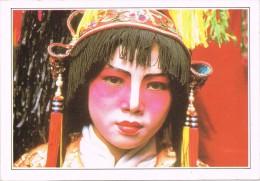 14390. Postal SINGAPOUR. Actrice Chinoise Fête Traditionnel. Singapore - Singapur