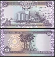 IRAQ 50 DINARS 2003 P 90 UNC