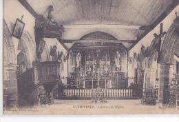 24396  Quemperven Intérieur De L´ église ... édition Hamon Guingamp - France