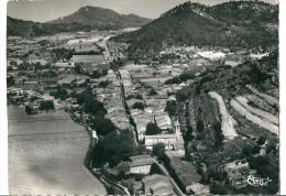 CPSM 83 LA ROQQUEBRUSSANE  BELLE VUE GENERALE AERIENNE COLLINE DE LAMANON - La Roquebrussanne