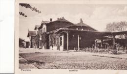 PARCHIM  -  Bahnhof  -  Décembre 1916 - Parchim