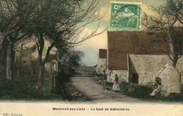 MONTREUIL AUX LIONS - Le Haut De Sablonières Quelques Habitants Du Hameau - Other Municipalities
