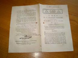 Lois An III:certifié Mirecourt. Assignats Royaux 5 & 10 Livres. Assignats Démonétisés. Assignats Pour Biens Nationaux... - Décrets & Lois