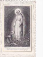 Image Pieuse-N.D. De Lourdes-1889-edi Bonamy N°61 - Imágenes Religiosas