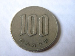 JAPON - 100 YEN 47 (1972). - Japan