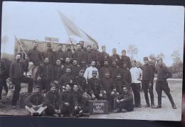 SOLDATS  17 EME REGIMENT   PHOTO CARTE - Régiments