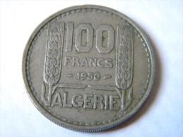 ALGERIE - 100 FRANCS 1950. - Algeria
