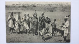 SOUDAN Afrique REGION De SEGOU Tam Tam De GRIOTS 1169 Occidentale CPA Animee Postcard - Sudan
