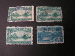 == New Zealand  1898 Lot   Bad Condition  Ca. € 230 Michel - Gebraucht