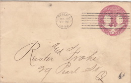 Lettre Buffalo, Postage Two Cent 1894