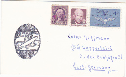 USS Seahorse SSN 669 NUCLEAR SUBMARINE COVER US NAVY Usa Stamps Atomic Energy Fish - Atom